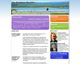 The Burnhams Benefice homepage
