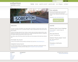 Soberton Parish Council homepage
